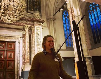 Mindful Meditatie in de  Nieuwe Kerk | Jolien Posthumus