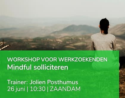 Clinic | Mindful Solliciteren