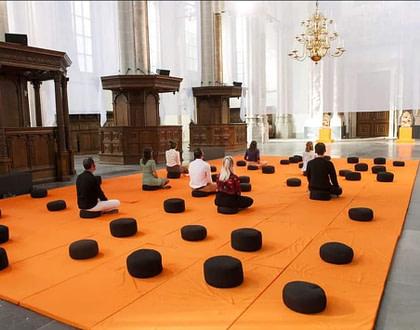 Mindfulness Nieuwe Kerk Jolien Posthumus