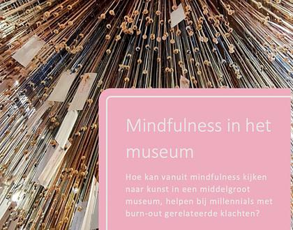 Afstudeerscriptie Daphne Veendorp Mindfulness in het Museum
